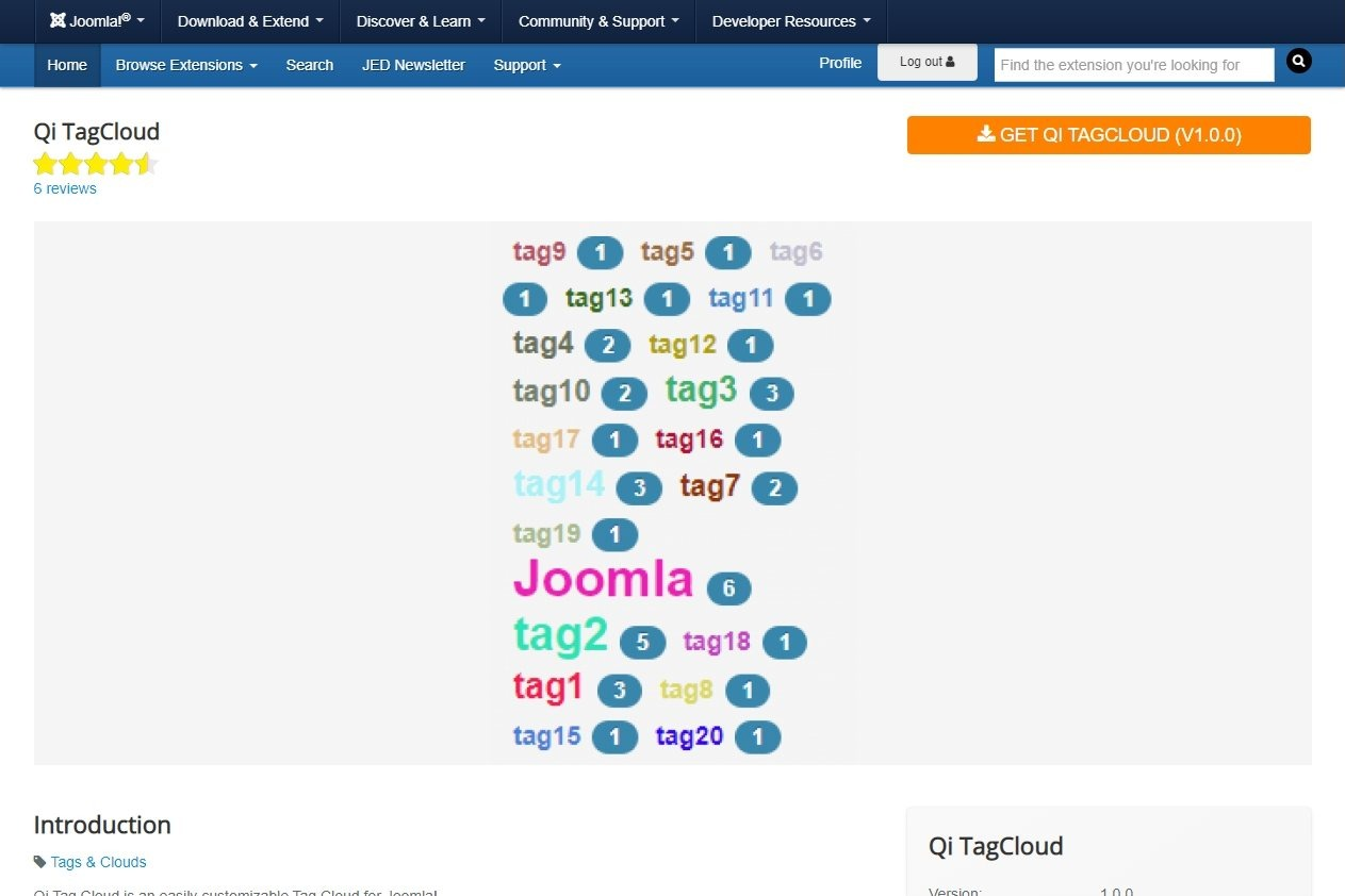 Qi TagCloud 非公式日本語翻訳ファイル